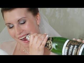 Юмор. Етвое шампанское  Прикол ●