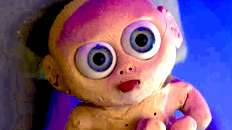 ALIENS PUT BABY IN MICROWAVE [an alien claymation]