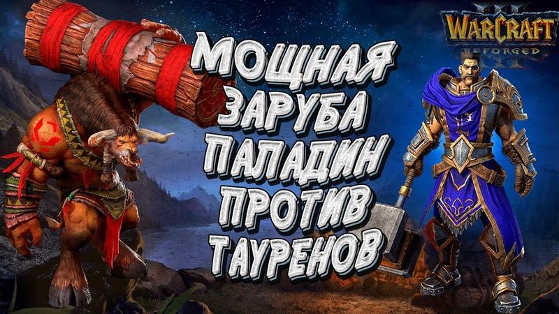 ПАЛАДИН ПРОТИВ ТАУРЕНОВ 100 ЛИМИТА ОТ ОБОИХ Chaemiko vs Soin Warcraft 3 Reforged