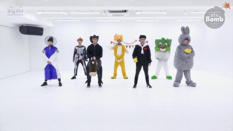 [BANGTAN BOMB] 21세기 소녀 (21st Century Girl) Dance Practice (Halloween ver.) - BTS (방탄소년단)