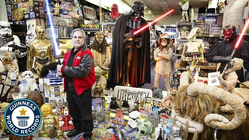 Biggest Star Wars Collection May the 4th be with you Guinness World Records