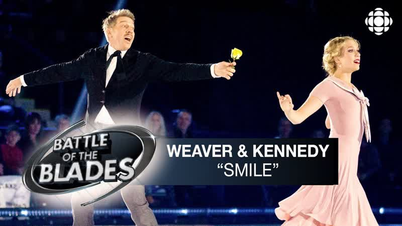 Kaitlyn Weaver and Sheldon Kennedy perform to Smile by Nat King Cole Battle of the Blades S05E04