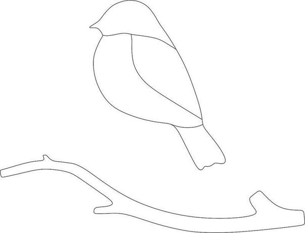 АППЛИКАЦИЯ ИЗ ПЛАСТИЛИНА «СНЕГИРЬ» Материалы: - Белый картон формата А4; - Заготовка для деревьев, вырезанная из серебряного картона; - Ветка, вырезанная из коричневого картона; - Снегирь,