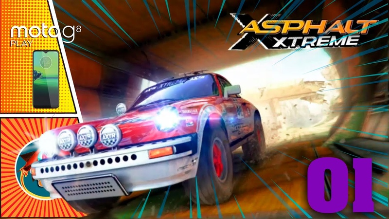 Asphalt Xtreme Corrida Rally Motorola G8 Play Gameplay Walkthrough iOS Android