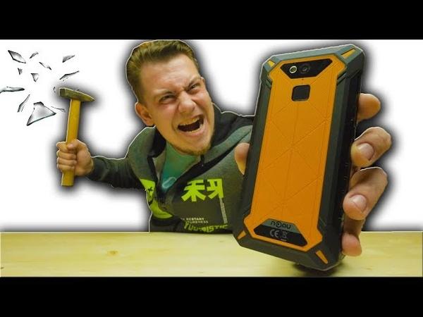 А твой смартфон выдержит такое Краштест NoMu S50 Pro
