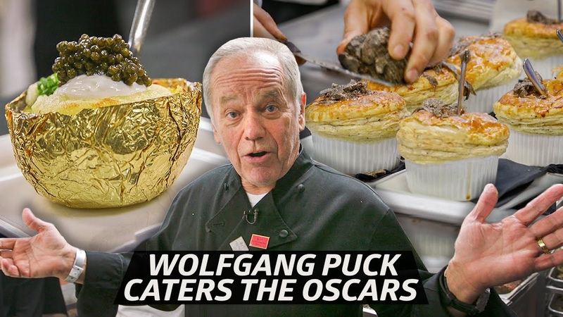How Chef Wolfgang Puck Serves 25 000 Dishes at The Oscars Every Year Mise En Place