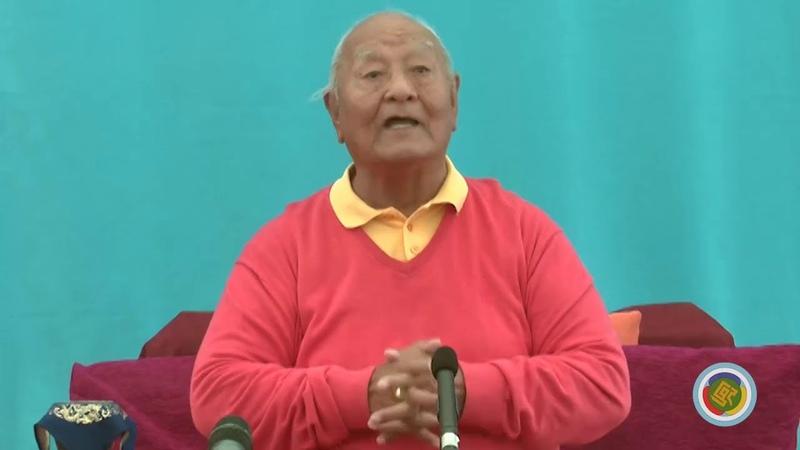 Chögyal Namkhai Norbu - A brief introduction to Dzamling Gar - 2013-11-16