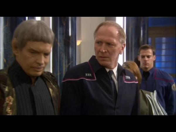 Admiral Forrest on Vulcan