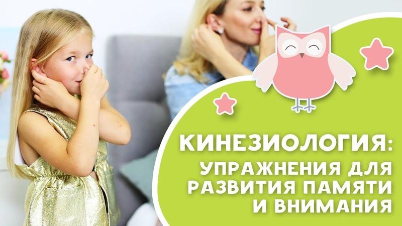 КИНЕЗИОЛОГИЯ упражнения для развития памяти и внимания Любящие мамы