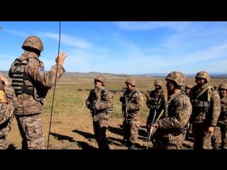 тренировв Бурятии прошла первая совместная тренировка военнослужащих ВВО и Вооруженных сил Монголии