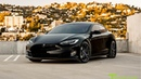 Tesla Model S P100D Black with Custom Purple Accents Trim: Fully Customized Exterior Interior