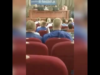 """Кадры с собрания на """"Гродно Азоте"""""""