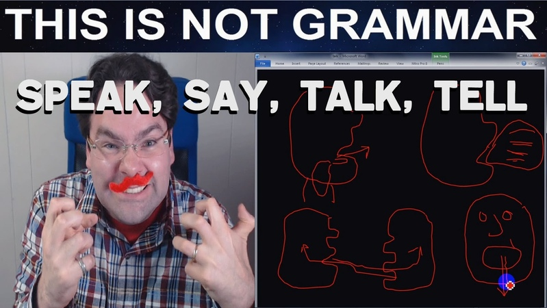 Difference between the verbs Say, Tell, Speak, and Talk English Grammar Say and Tell Say and Talk