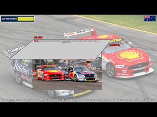 Virgin Australia Supercars Championship: Repco SuperSprint The Bend, Гонка 2,  [A21 Network]