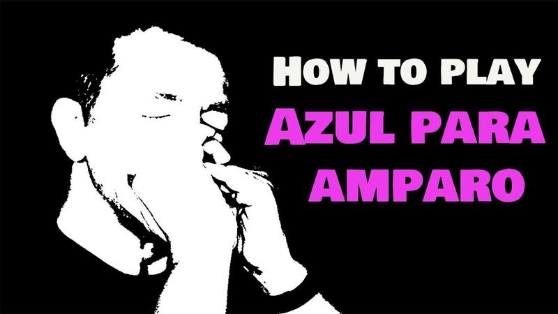 How to play Charlie Musselwhites AZUL PARA AMPARO