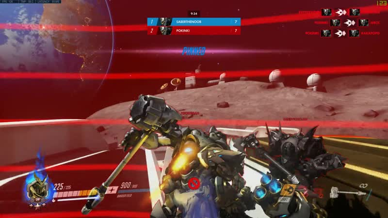 I present to you my friends game, Reinhardt Jousting.