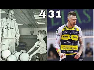 Ivan Zaytsev Evolution. Road of The Volleyball King (HD)