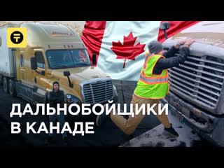 Работа дальнобойщика в КАНАДЕ: от $36 000 в год. Какие УСЛОВИЯ Выпуск 1