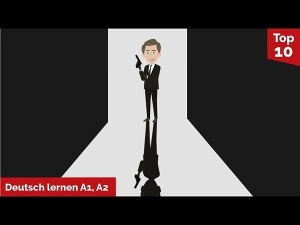 Deutsch lernen Agent James Hallond auf geheimer Mission Wortschatz üben