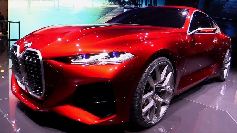 NEW 2020 BMW 4 Series Concept Full HD Exterior 60fps