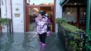 Venice hit by high tide on Christmas Eve