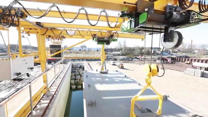 STAHL CraneSystems – Deltares Portalkran
