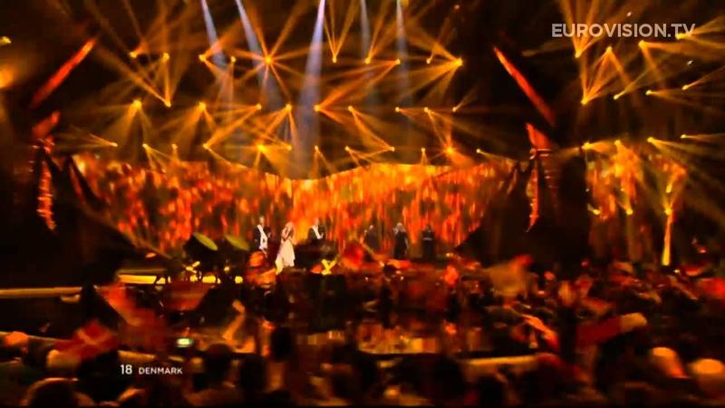 Emmelie de Forest Only Teardrops Denmark LIVE 2013 Grand Final