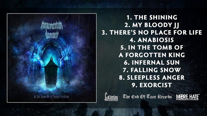 Monumentum Damnati In The Tomb Of A Forgotten King 2020 Full Album