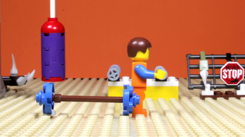 Lego Stop Motion Animation Cartoons