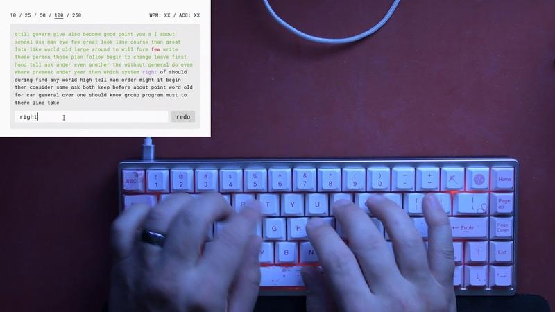 Berryglides typing test 2 on POM half plate