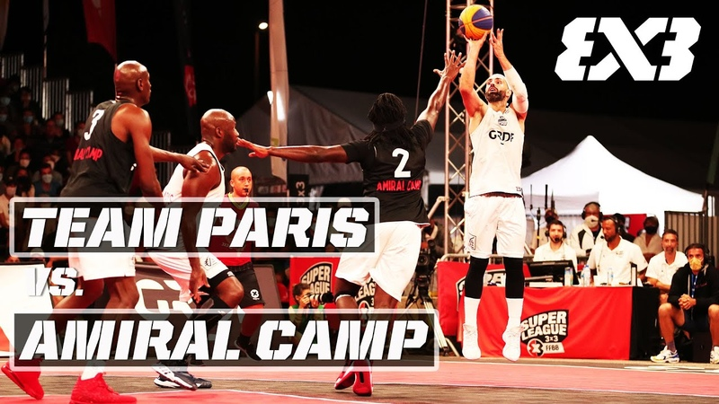 Team Paris vs Amiral Camp Full Men's FINAL Game Open de France 3x3 2020