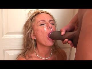 ПОРНО -- ЕЙ 46 -- ВЫЕБАЛ ЗРЕЛУЮ  БЛОНДИНКУ В ТУАЛЕТЕ  -- milf porn sex -- Valery mature