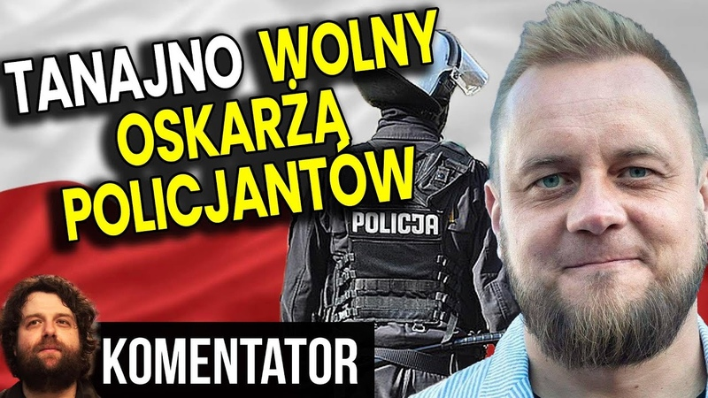 Paweł Tanajno Wolny - Oskarża Policjantów o Fałszywe Zeznania - Analiza Komentator Biznes Film PL