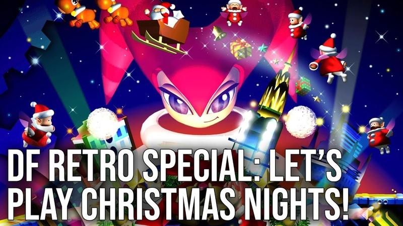 DF Retro Festive Let's Play Christmas NiGHTS on Sega Saturn