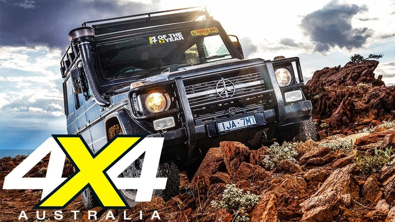 Mercedes Benz G300 Professional 2018 4x4 of the Year Contender 4X4 Australia