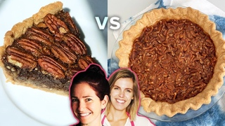 Pie Challenge: Would You Rather Have A Pretzel Pie or Chocolate Pecan Pie • Tasty