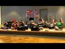 Polynesian Islander Sitting Dance Performance