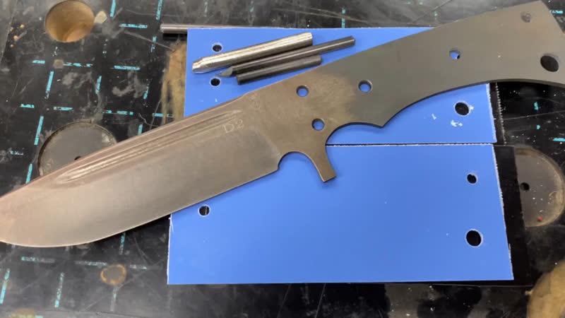 Нож Напарник full tang D2 РусБеръ