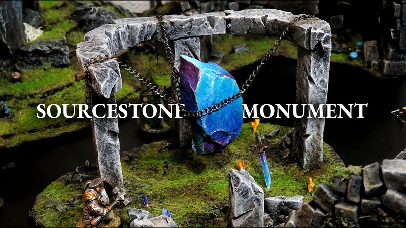 Basic Rock = Epic Terrain: The Sourcestone Monument (DD, Wargaming)