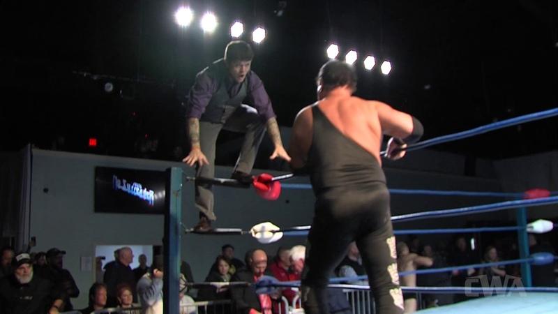 Jerry Lawler Fights Matt Riviera Co Before Winning Arkansas Heavyweight Title CWA No Surrender