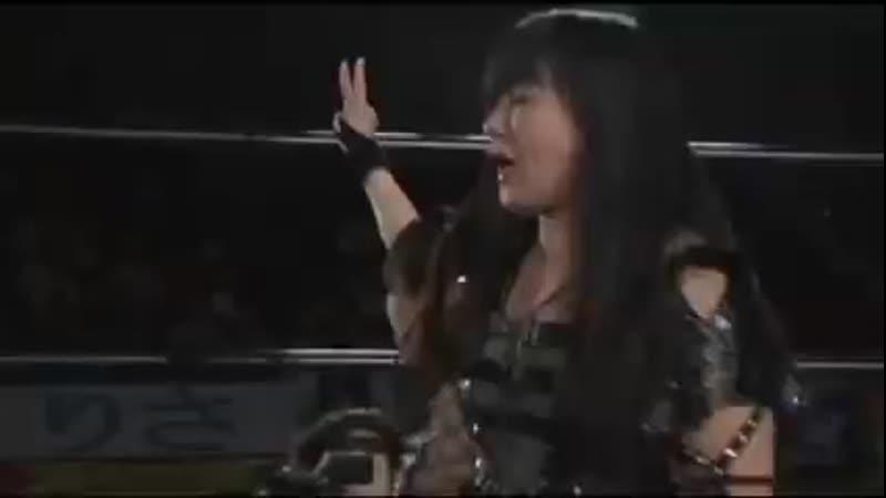 Masami Toyota Groin Kicks Akane Fujita