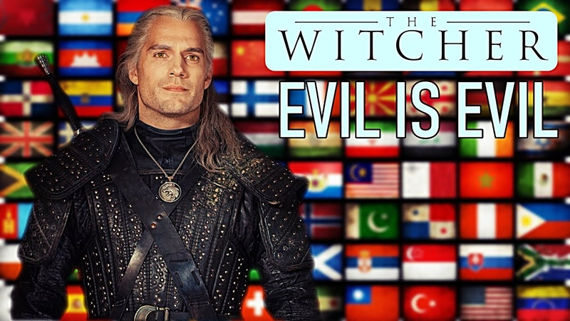 The Witcher Evil is Evil in 13 Languages