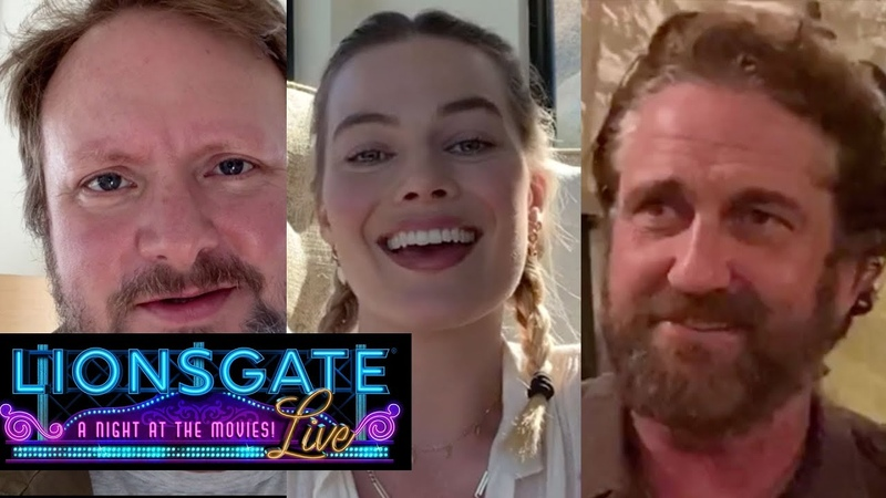 Thank You Theater Workers - Margot Robbie, Gerard Butler, Rian Johnson   Lionsgate LIVE