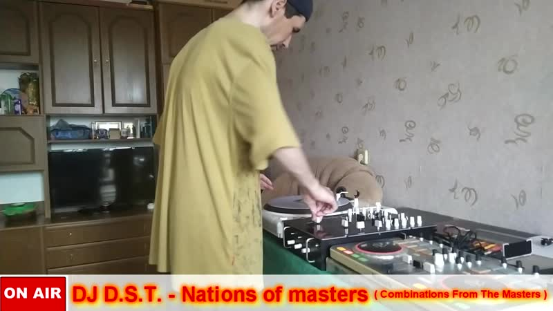 DJ D.S.T. - Nations of masters (Combinations From The Masters)