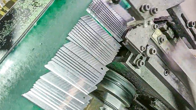 Awesome Factory Machines and Skilled Creative Workers Work Mesmerizing and Very Satisfied