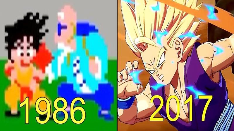Evolution of Dragon Ball Games 1986-2017