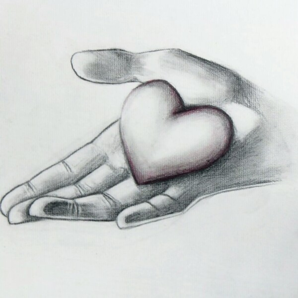 drawings of hearts - 736×736