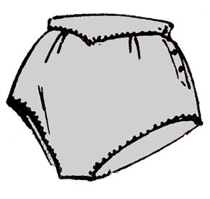 Шьем женское белье: трусики и сорочка