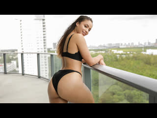 Sadie Creams - Ebony Booty Bouncing (Blowjob, Black Hair, Ebony, Natural Tits, Hardcore)