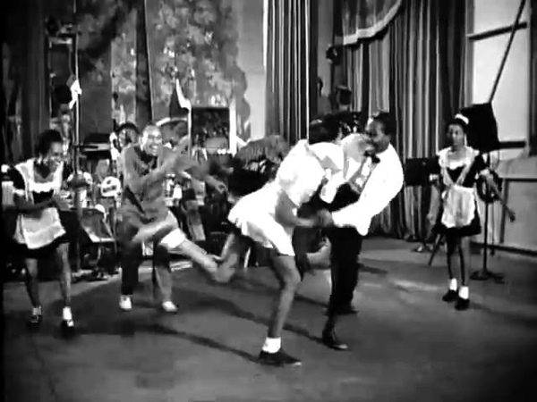 Hellzapoppin Lindy Hop Featuring Frankie Manning 1941 Gatti's Cut wmv